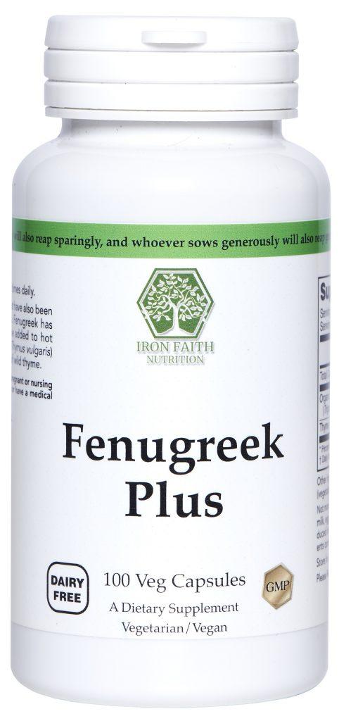 Fenugreek Plus (with Thyme)